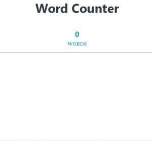 PPOM Text Counter