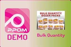 PPOM Bulk Quantity