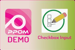 PPOM Checkbox Input