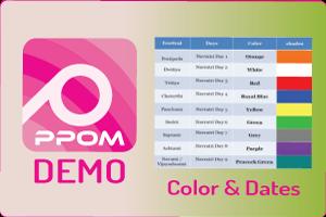 PPOM Color & Dates