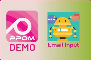 PPOM Email Input
