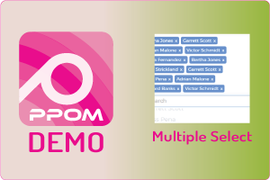 PPOM Multiple Select