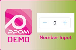 PPOM Number Input
