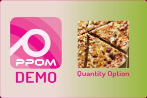 PPOM Quantity Option
