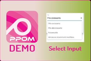 PPOM Select Input