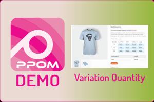 PPOM Variation Quantity